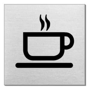 Piktogramm - Café (quadratisch)