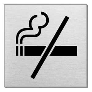 Piktogramm - Rauchen verboten (quadratisch, ohne Rand)