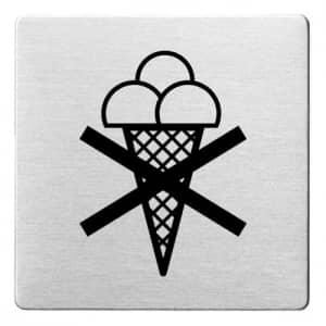 Piktogramm - Eisverbot (ecken abgerundet)