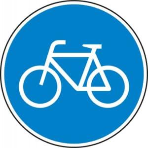 VZ 237 Verkehrsschild Radweg gemäß StVO