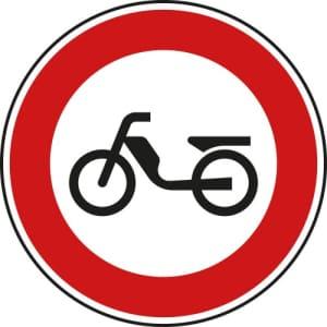 VZ 257-50   Verkehrsschild Verbot für Mofas