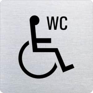 Piktogramm - WC behindertengerecht (ecken abgerundet)