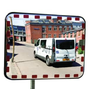 Verkehrsspiegel UNI-SIG - Überprüfung von 2 Richtungen