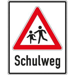 Verkehrsschild Schulweg