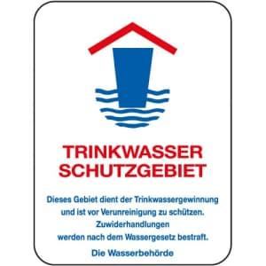Trinkwasser Schutzgebiet