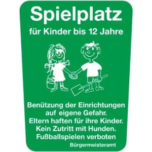 Spielplatz für Kinder bis 12 Jahre