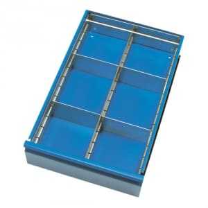 Schubladen-Einteilungs-Set für Stahlblech-Werkstattwagen