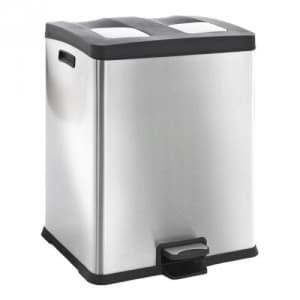 Recycling Tritt-Mülleimer REJOICE RECYCLING BIN, EKO - Inhalt 2x 30 Liter