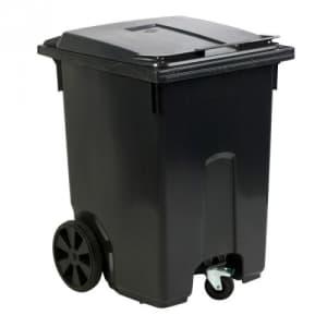 Mülltonne MINI CONTAINER mit Schwenkrolle - Inhalt 360 Liter