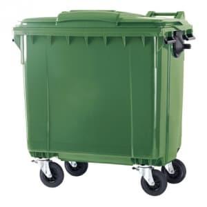 Müllcontainer mit Hebedeckel - Inhalt 770 / 1100 Liter