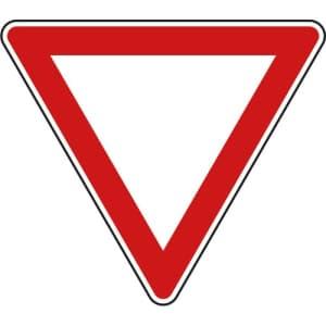 VZ 205 Vorfahrt gewähren Schild