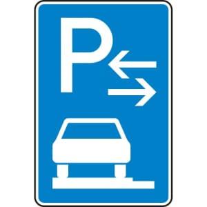 VZ 315-63 Parken auf Gehwegen Schild (Mitte)