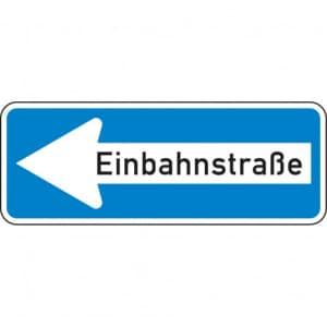 VZ 220-10 Einbahnstaße links | StVO-Verkehrsschild