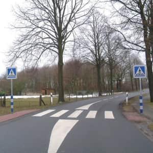 Leitzylinder für Verkehrleitsäulen