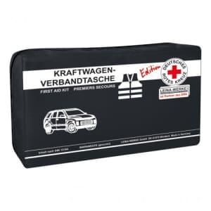 KFZ Verbandtasche Compact + Warnweste - DRK Edition