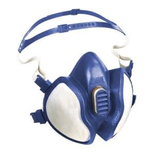 3M Halbmaske Serie 4000 Plus, als Einwegmaske