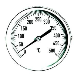 Wassertemperaturanzeige für Tank-Notduschen