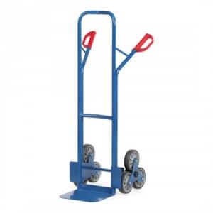 Stahlrohr-Treppenkarre mit kleiner Schaufel, Treppensternen - Tragkraft 200 kg