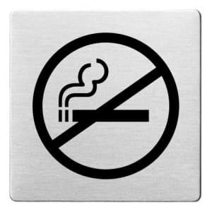 Piktogramm - Rauchen verboten (ecken abgerundet)