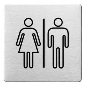 Piktogramm - Damen/Herren (ecken abgerundet) Motiv 2