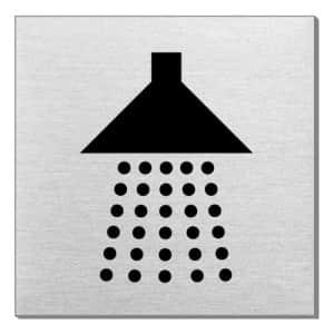 Piktogramm - Dusche (quadratisch)