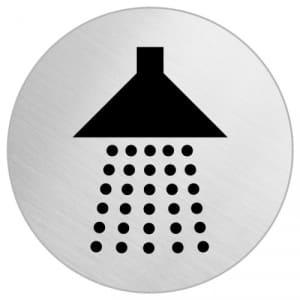 Piktogramm - Dusche (rund)