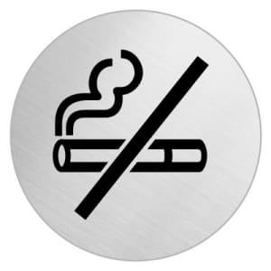 Piktogramm - Rauchen verboten (rund, ohne Rand) Motiv 3