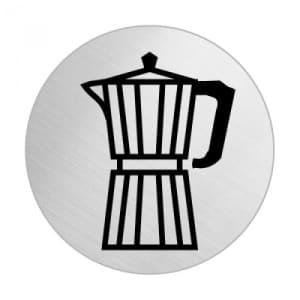 Piktogramm - Café (rund) Motiv 2