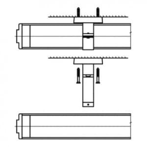 Edelstahl-Rohrschellen für X-LUX CLASSIC