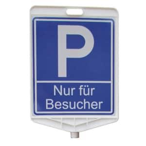 Schilderaufsätze Parkplatz - Viereckiges Schild