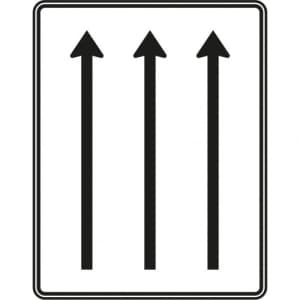 Fahrstreifentafel Schild Verkehrszeichen 521-31