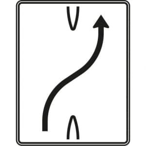 Überleitungstafel Verkehrszeichen 501-20
