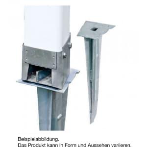 Metalleinschlagsockel für Abscherleitpfosten
