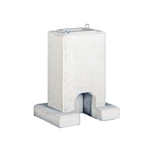 Betonfundament mit Kranösen für AC-Ladestationen Base Mounted (Advanced) + Sockelfüller