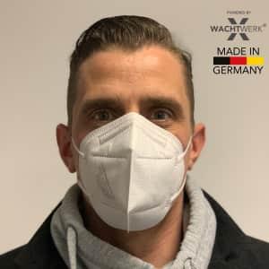 30 Stück FFP2 Atemschutzmaske NR ohne Ventil, 4-lagig