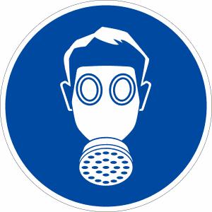 Gebotszeichen - Atemschutz benutzen (BGV A8 M 04) - Restposten