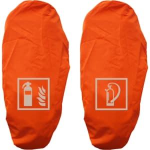 Schutzhaube für Feuerlöscher   Gitternetzfolie