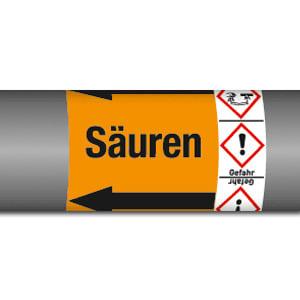 Gruppe 6 - Säuren mit Gefahrstoffsymbol (GHS)