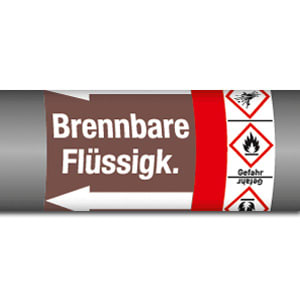 Gruppe 8 - Brennbare Flüssigkeiten mit Gefahrstoffsymbol (GHS)