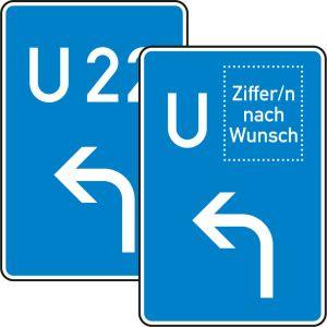 VZ 460-10 Schild Bedarfsumleitung Vorankündigung