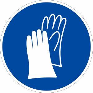 Gebotszeichen - Handschutz benutzen (BGV A8 M 06)