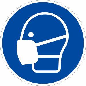 Gebotszeichen - Maske benutzen nach ISO 7010 (M 016)
