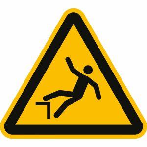 Warnung vor Absturzgefahr nach ISO 7010 (W 008)