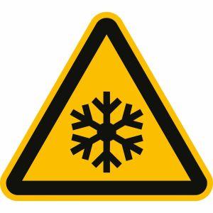 Warnung vor niedriger Temperatur nach ISO 7010 (W 010)