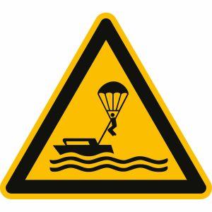 Warnung vor Parasailing nach ISO 20712-1 (WSW 021)