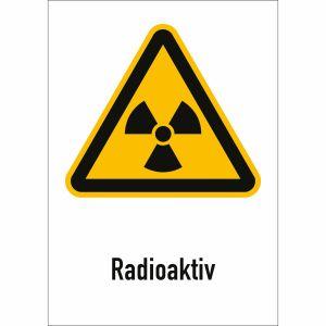 Kombischild Radioaktiv