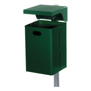 Rechteck-Abfallbehälter mit Abdeckhaube - Inhalt 40 / 50 Liter