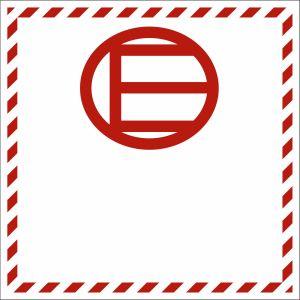 Gefahrzettel Kennzeichen für freigestellte Mengen