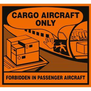 Transportkennzeichen Cargo Aircraft Only (CAO)