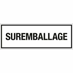 Transportkennzeichen SURREMBALLAGE